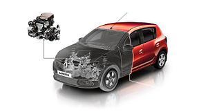 ДВИГАТЕЛЬ Renault Sandero 2014->