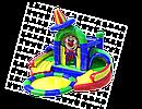 Батут с 2 горками и сухим бассейном. НН.106, фото 2