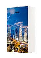Газовый проточный водонагреватель 16-21 кВт Zanussi GWH 10 Fonte Glass Metropoli