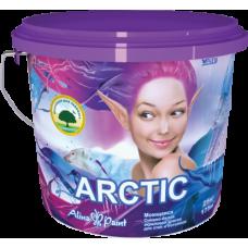 Моющая акриловая краска д/стен и потолков Arctic 1 кг
