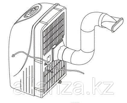 Мобильный кондиционер 3,5 кВт Electrolux EACM-13 CL/N3 - фото 3