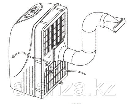 Мобильный кондиционер 3,5 кВт Electrolux EACM-13 HR/N3 - фото 4