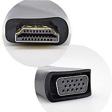 Адаптер / Конвертер HDMI - VGA, Mini, фото 3