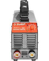 Сварочный аппарат инвертор ЗУБР ЗАС-М3-220, МАСТЕР, М3, 220А, MMA, IGBT, ПВ-30%, 1*220В (мин 180В) , фото 3