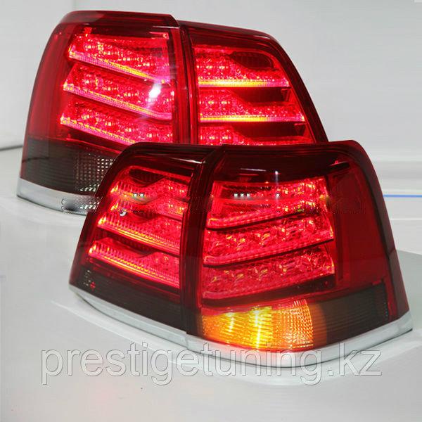 Задние фары в стиле LX570