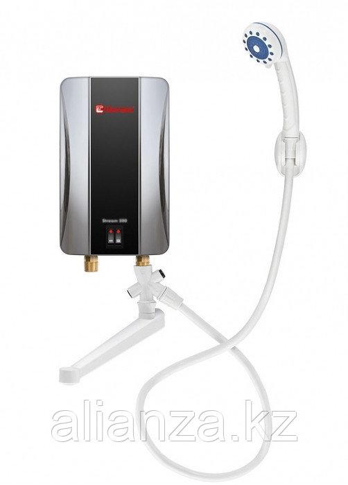 Электрический проточный водонагреватель 5 кВт Thermex Stream 500 Chrome