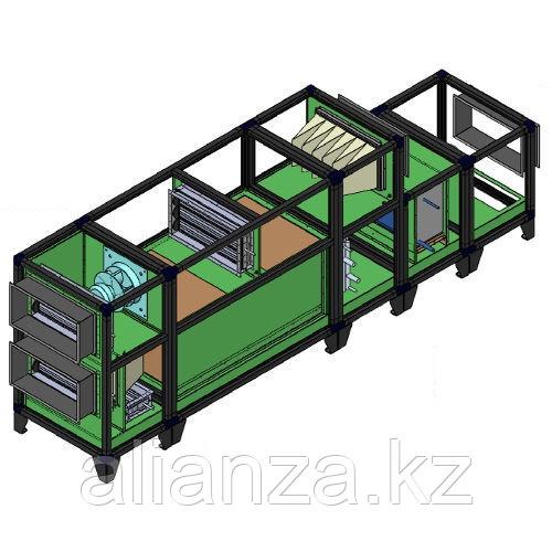 Приточно-вытяжная вентиляционная установка 6000 м3/ч Breezart 6000 Lux RP F PB 37,5-380