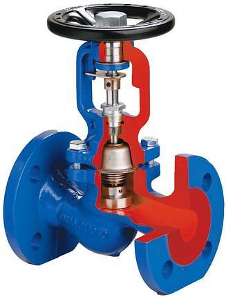 Запорный клапан с сильфонным уплотнением MK-16/25/40, фото 2