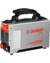 Сварочный аппарат инвертор ЗУБР ЗАС-М3-250, МАСТЕР, М3, 250А, MMA, IGBT, ПВ-30%, 1*220В (мин 180В) , фото 2