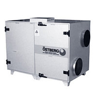 Приточно-вытяжная вентиляционная установка 5500 м3/ч Ostberg HERU 1200 S RWR