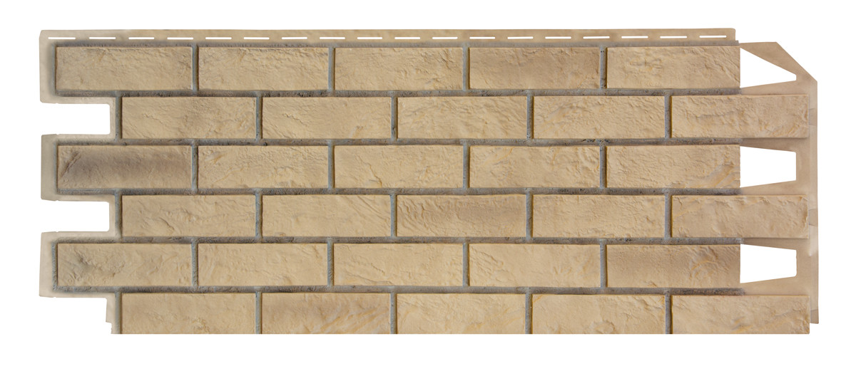 Фасадные панели VOX 420x1000 мм (0,42 м2) Solid Brick Exeter (Кирпич) Эксетер