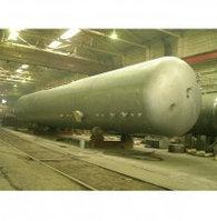 Резервуары наземного размещения для хранения СУГ-200м3 (с комплектом арматуры и редуктором)