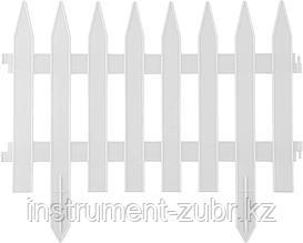 """Забор декоративный GRINDA """"КЛАССИКА"""", 28x300см, белый"""