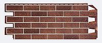 Фасадные панели VOX 420x1000 мм (0,42 м2) Solid Brick Dorset (Кирпич) Дорсет, фото 1
