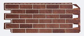 Фасадные панели VOX 420x1000 мм (0,42 м2) Solid Brick Dorset (Кирпич) Дорсет