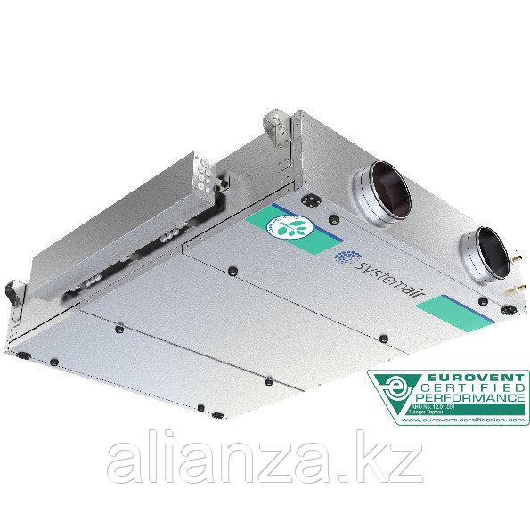 Приточно-вытяжная вентиляционная установка 2500 м3/ч Systemair Topvex FC04-R