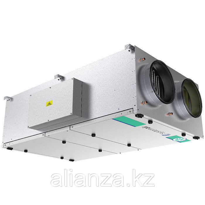 Приточно-вытяжная вентиляционная установка 2500 м3/ч Systemair Topvex FR06 HWH-L-CAV