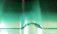 Металлочерепица Фортуна (Глянец 6005)