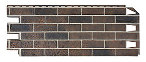 Фасадные панели VOX 420x1000 мм (0,42 м2) Solid Brick York (Кирпич) Йорк