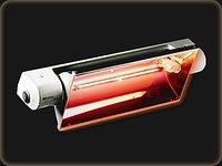 Инфракрасный обогреватель 2 кВт Heliosa 33 IP20/1300W/WHT