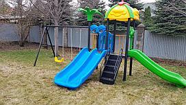 Детский игровой комплекс из пластика