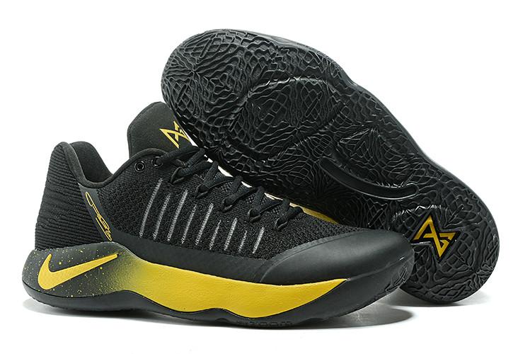 Баскетбольные кроссовки Nike PG2 from Paul George black\gold