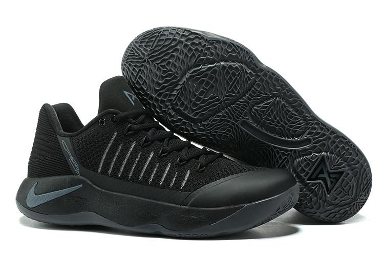 """Баскетбольные кроссовки Nike PG2 from Paul George """"Black\Gray"""""""