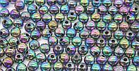 Бусины из акрилового пластика перламутровые (хамелеон), d-8 мм. Creativ  2063