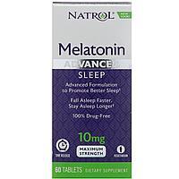 Мелатонин 10 мг. Natrol. 60 шт.
