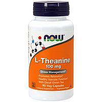 Л-Тианин с декофеинизированным зеленым чаем 100 мг. 90 Vкапсул