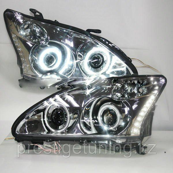 Передние фары RX330 RX300 RX350 Angel Eyes 2003-08