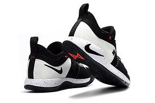 Баскетбольные кроссовки Nike PG2 from Paul George black\white, фото 2