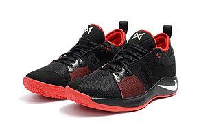 Баскетбольные кроссовки Nike PG2 from Paul George black\red, фото 2