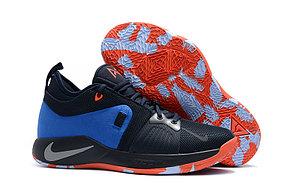 Баскетбольные кроссовки Nike PG2 from Paul George black\blue, фото 2