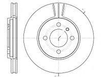 Тормозные диски  Bmw E30-320,325,328 (передние, вент., Optimal)