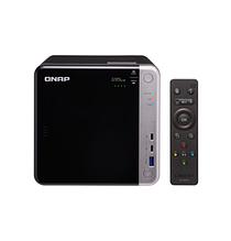 QNAP TS-453BT3-8G Сетевой RAID-накопитель, 4 отсека для HDD, 2 HDMI-порта. Intel Celeron J3455 1,5 ГГц.