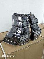Задние фонари на TLC Prado 2009-17 Black style