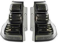 Задние фонари на TLC Prado 2009-17 Black style, фото 1