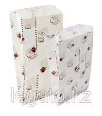 """Бумажный пакет """"Приятного аппетита""""  с печатью 310*140*60 3500шт/кор"""