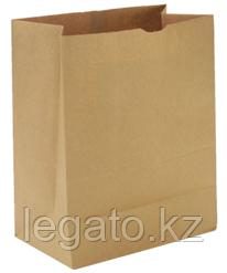 Бумажный пакет Крафт 340*170*70 б/п, крафт 1500шт/кор