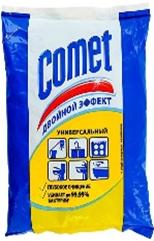 """Порошок чистящий с дезинф. св-ми """"Comet Лимон"""" 400г 20шт/кор"""