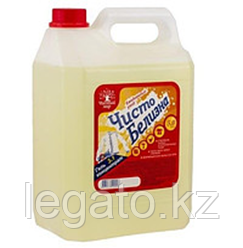 "Гель ""Белизна"" 5 л, концентрат, ароматиз,лимон 1 шт/уп, 4 уп/кор.Чистый мир"
