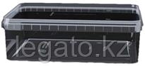 Контейнер 1,0л 191*129 прозрачный с крышкой прозрачная/Альянс