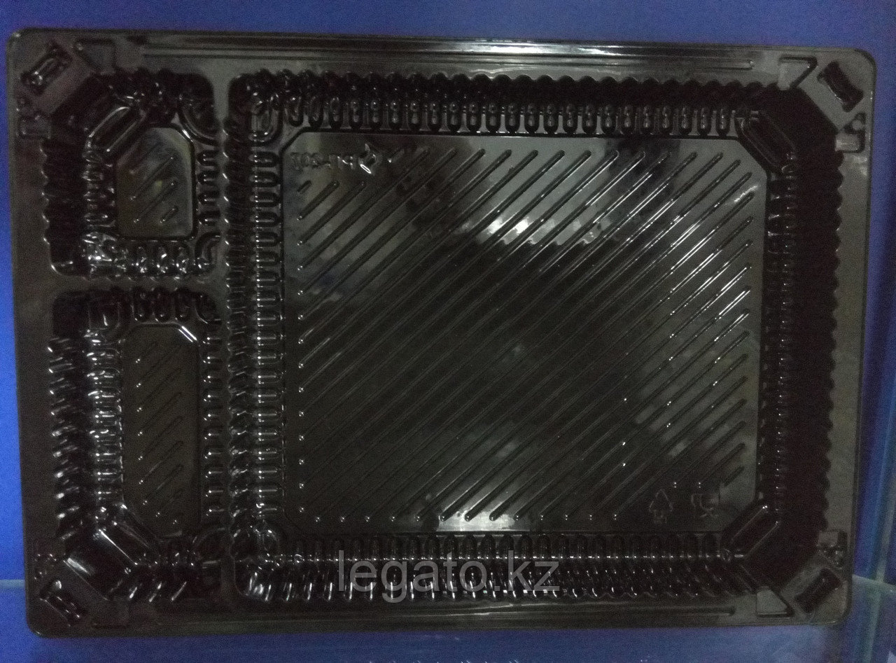 РП-207 Контейнер Дно.3-х секц. 234*164*22. 400шт/кор