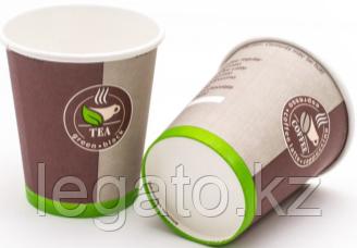 """Стакан бумажный 250мл """"Coffee to go"""" (IP 1000/50)"""