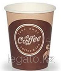 Стакан бумажн.для гор. напитков 400мл., Coffee take away 50шт/уп 1000шт/кор Лига-Пак