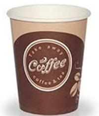Стакан бумажн.для гор.напитков 350мл Coffe take away