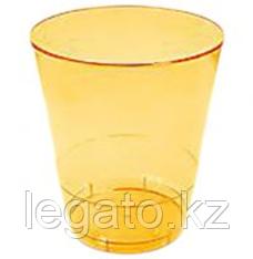 Стакан д/хол 0,2л, Кристалл, ПС, жёлтый, 50 шт/уп, 1000 в