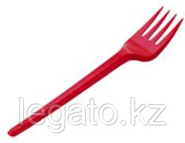Вилка столовая красная Премиум ОРЕЛ (ИнтроПластик 2200/100)