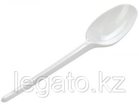 Ложка столовая белая в коробке (ИнтроПластик 2400)120шт/уп